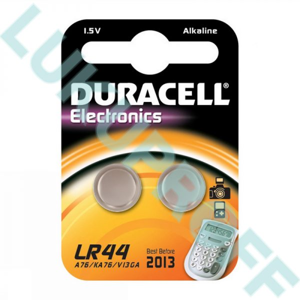 PATAREI DURACELL LR44 1,5V