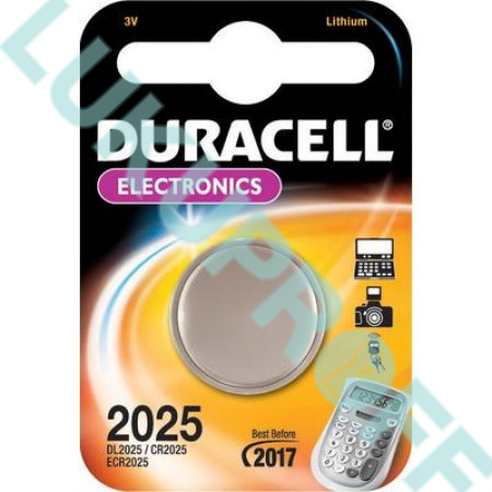 PATAREI DURACELL CR2025  3V